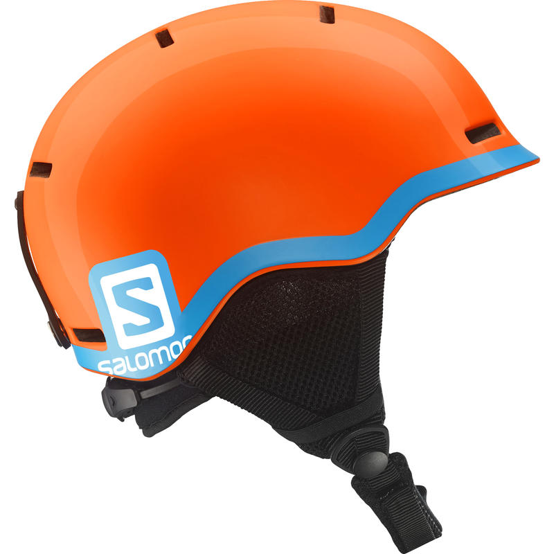 Grom Snow Helmet Fluo Orange/Blue