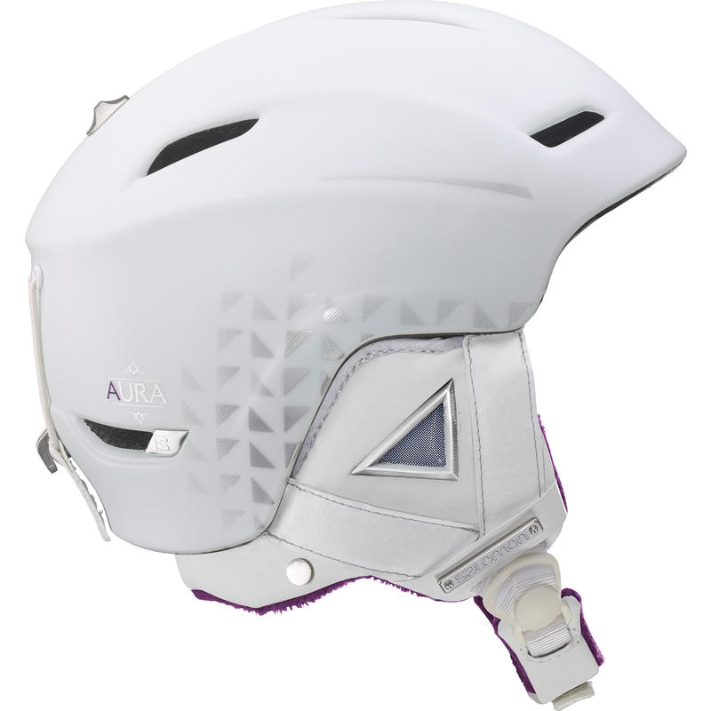 Casque de ski Aura Auto Custom Air Blanc
