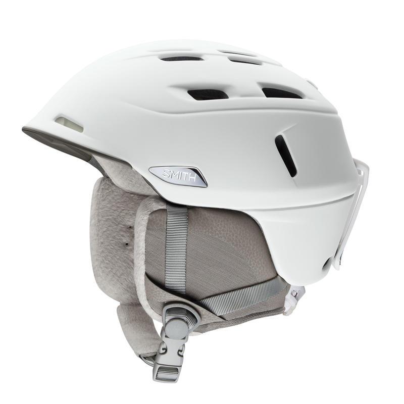 Casque de ski Compass Mips Blanc perle