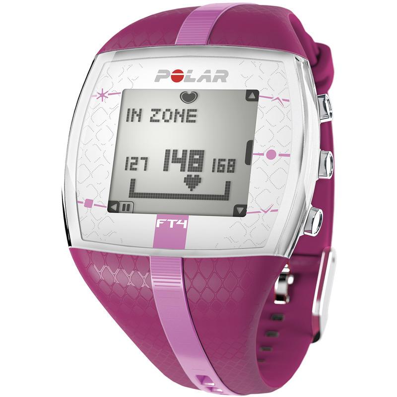 Montre FT4F avec cardiomètre Violet/Argent