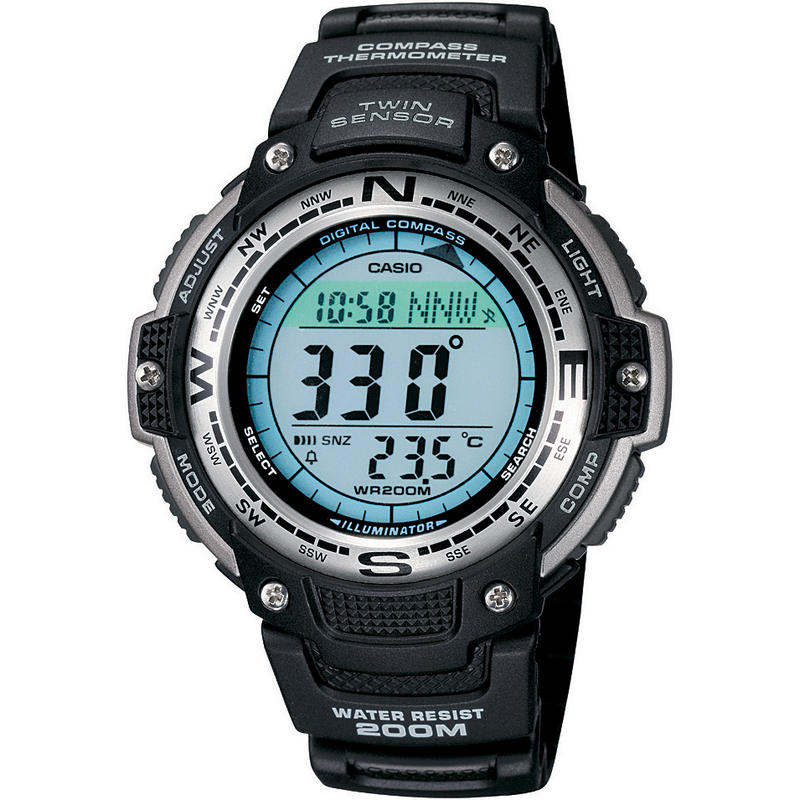 Montre Twin Sensor Noir