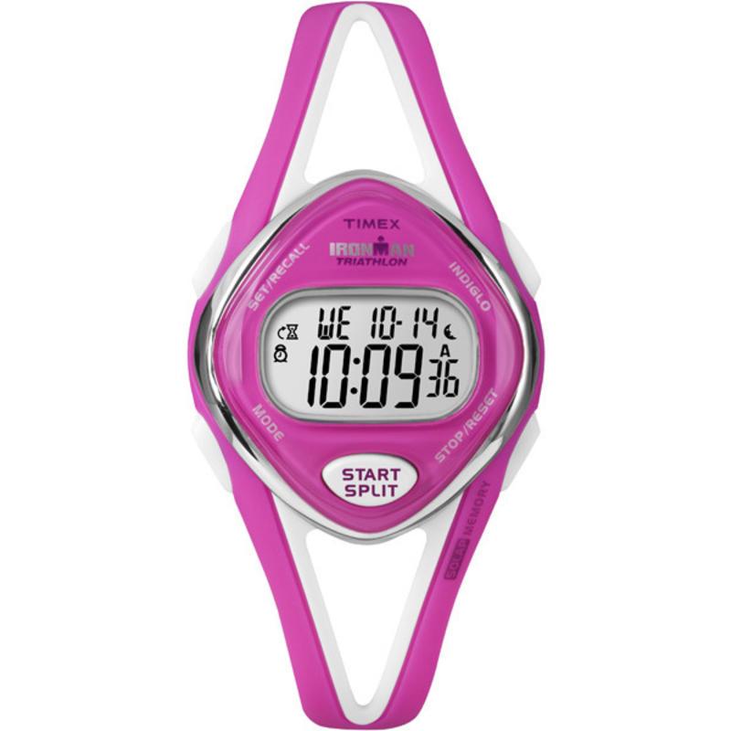 Sleek 50 Lap Mid-size Watch Neon Pink