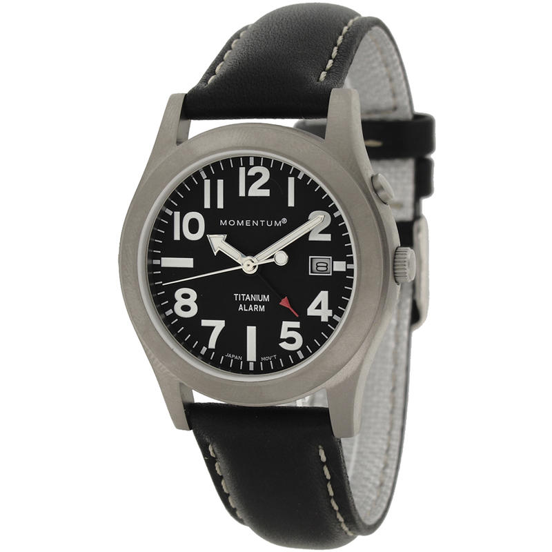 Pathfinder II With Leather Band Black/Black