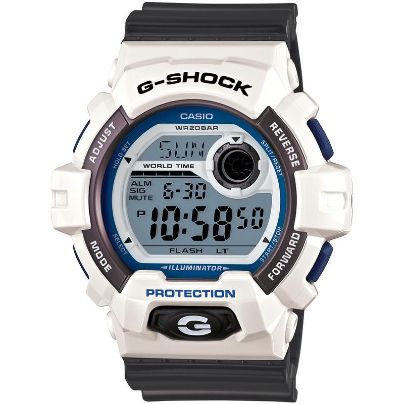 Montre G8900 Blanc/Gris