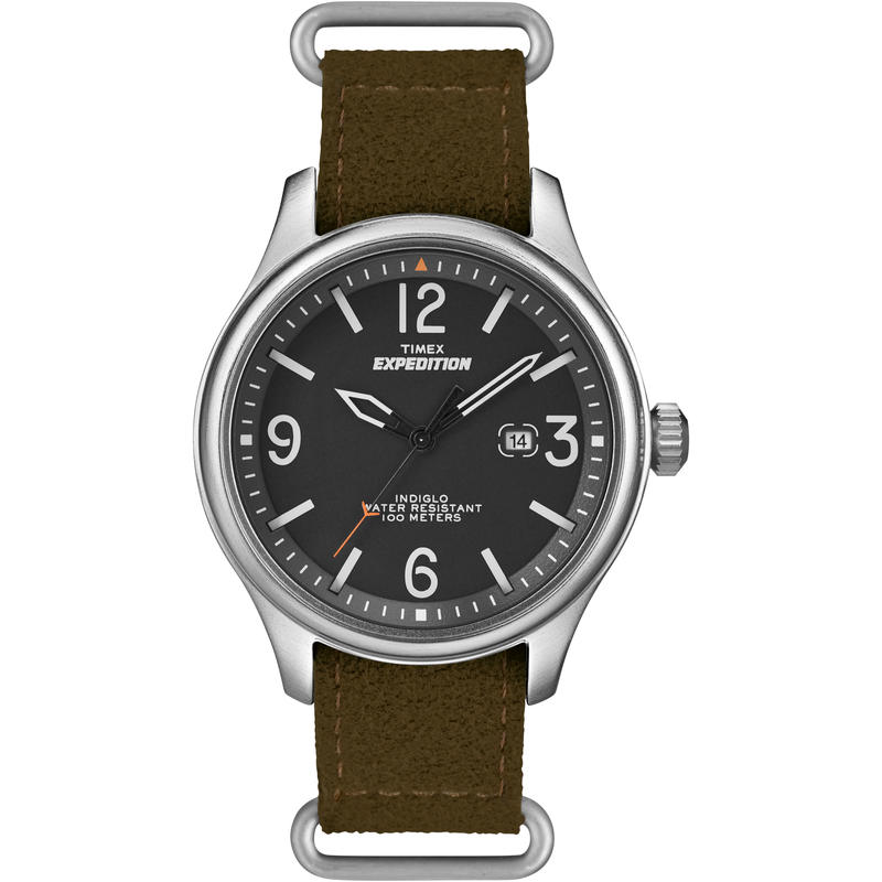 Expedition Field Watch Black/Brown