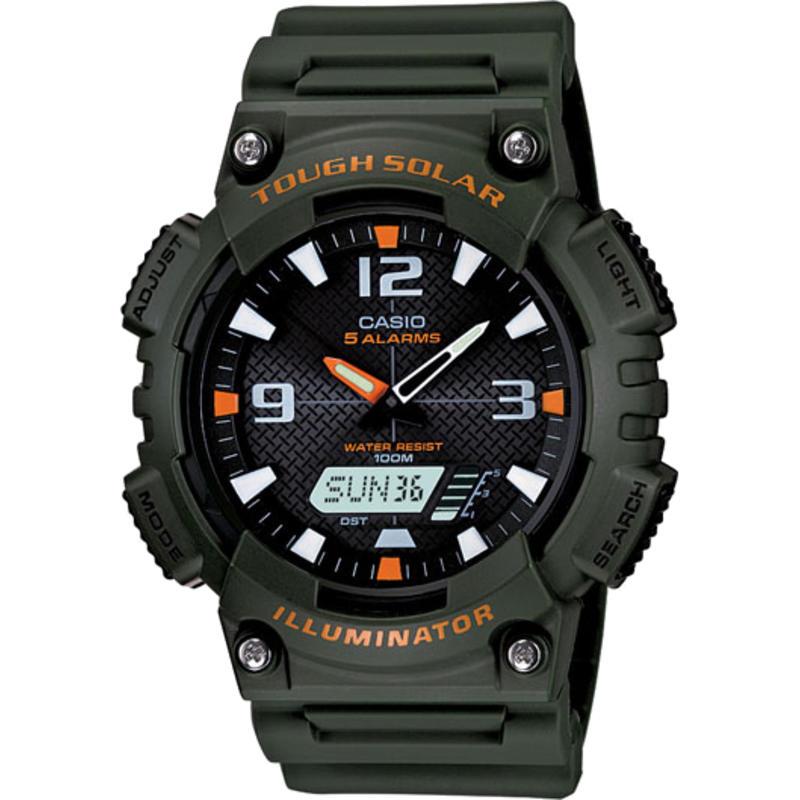 Montre AQS810W Noir/Orange