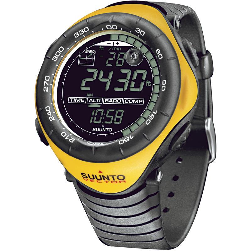 Ordinateur-bracelet Vector 2004 Jaune