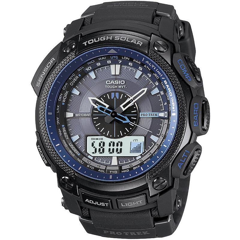 Montre Pro-Trek PRW5000 Noir/Bleu
