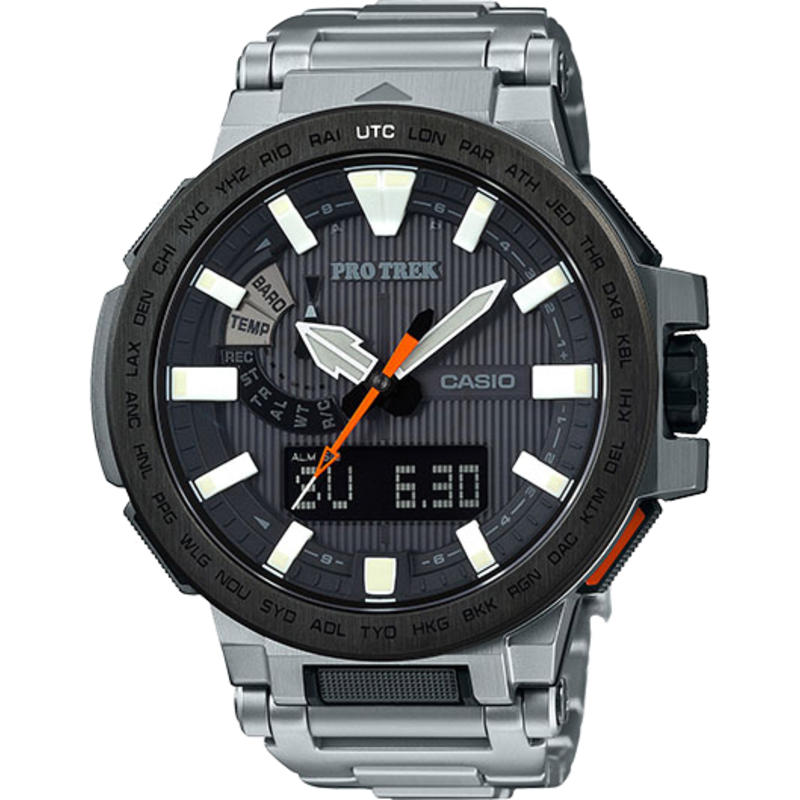 PRX8000T Watch Silver