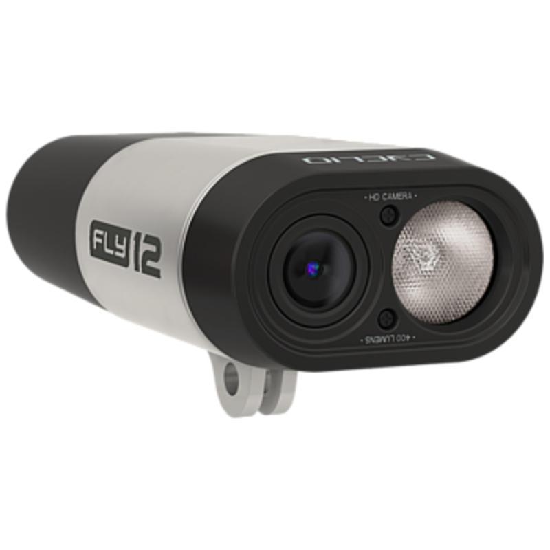 Caméra vidéo HD FLY12/Phare Noir/Argent