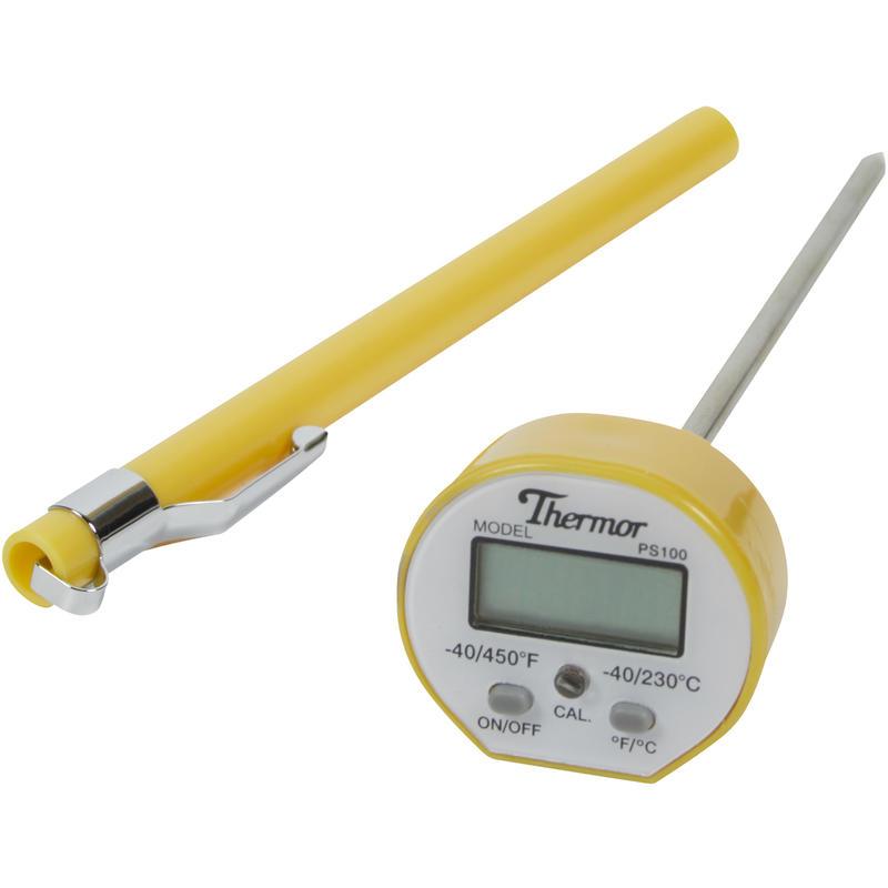 Thermomètre numérique étanche