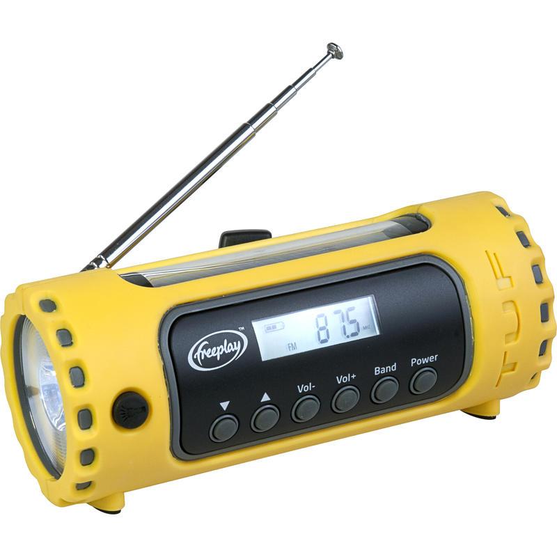 TUF USB/Solar/Crank Emergency Radio Yellow