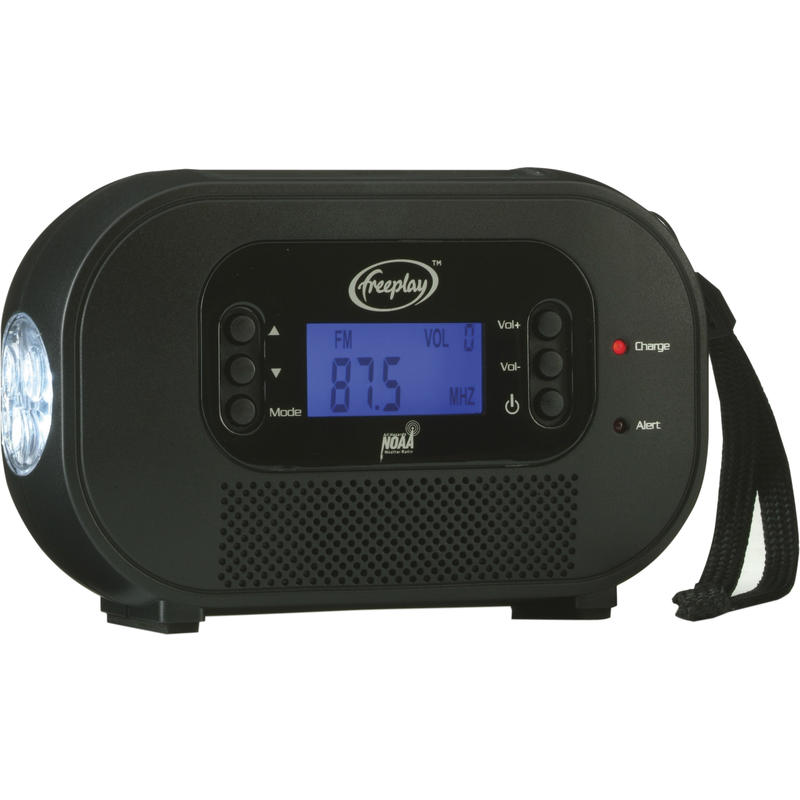 Encore Buddy Weatherband/Solar Radio Black