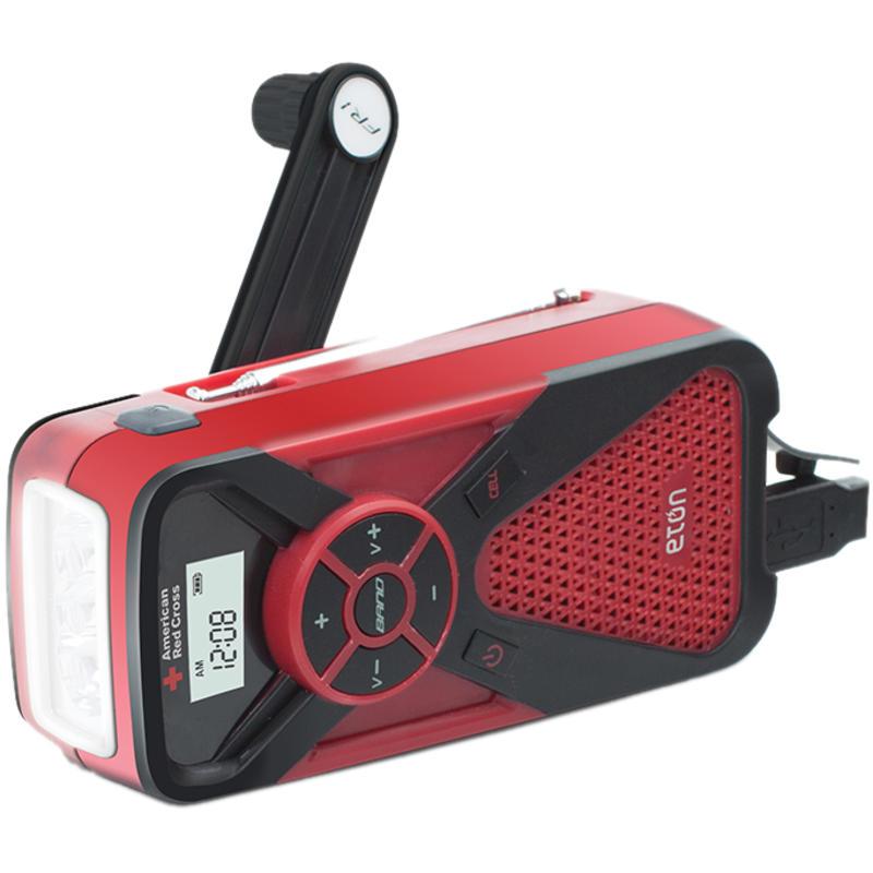 FR1 Emergency radio/weather/flashlight Red/Black