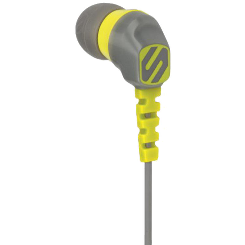 ThudBuds Sport Earbuds Yellow/Grey