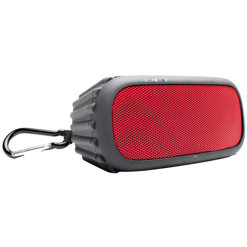 Haut-parleur étanche sans fils ECOROX Rouge
