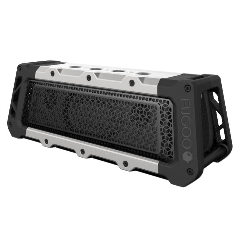 Tough XL Bluetooth Wireless Speaker Black/Silver