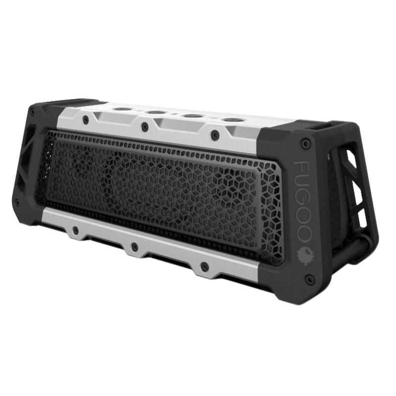 Tough XL Bluetooth Wireless Speaker Black/Silver