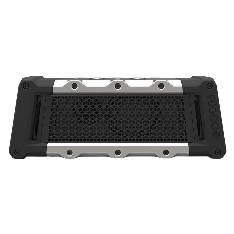 Haut-parleur sans fils Tough Bluetooth Noir/Argent