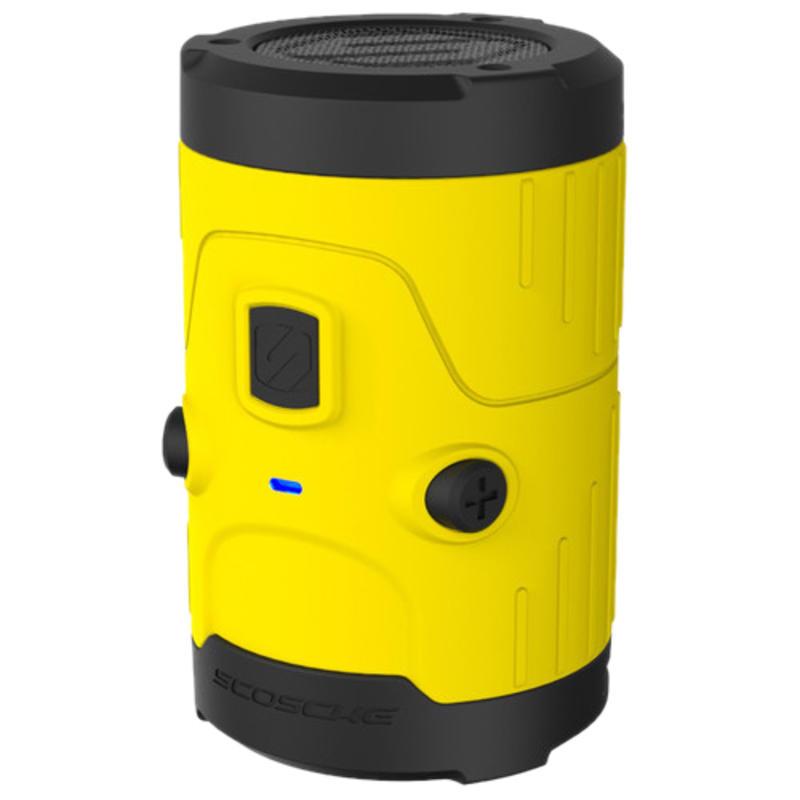 boomBOTTLE H2O Speaker Yellow/Black
