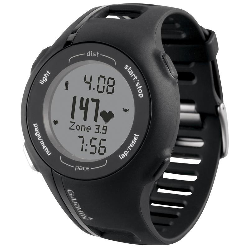 Forerunner 210 w/Heart Rate Monitor Black