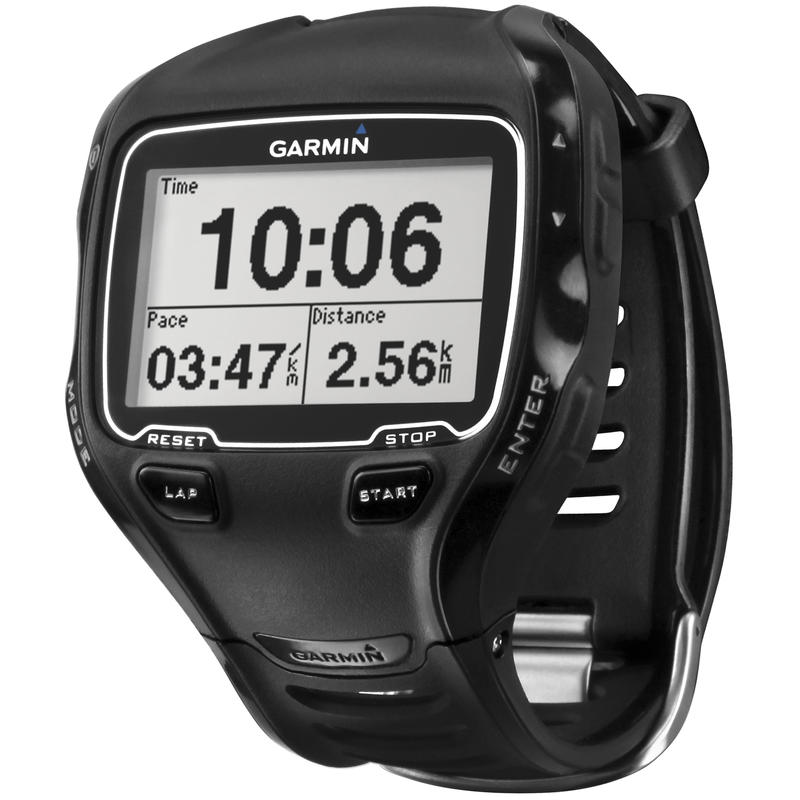 Montre Forerunner 910XT GPS avec cardiomètre Noir