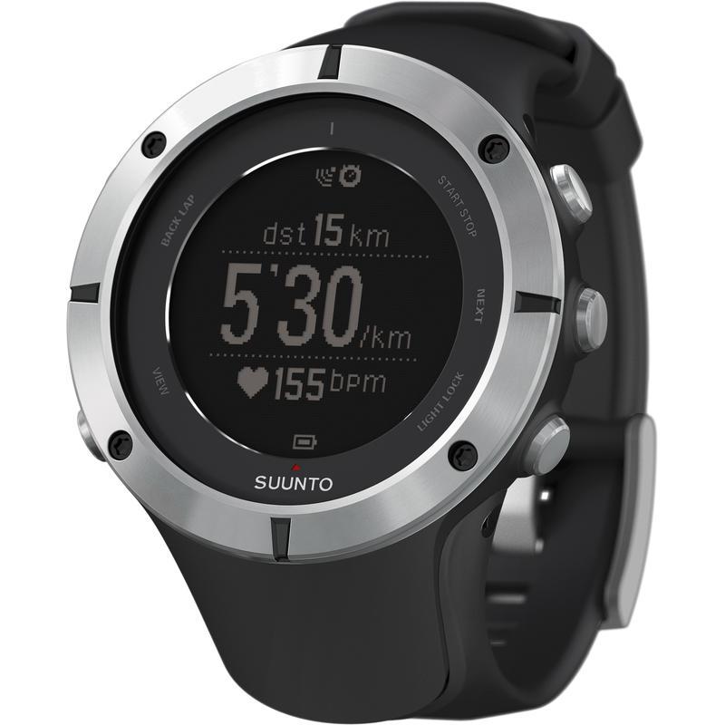Ambit 2 Sapphire GPS Watch w/HRM Silver