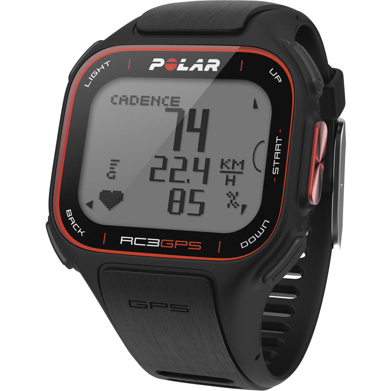 RC3 GPS Heart Rate Monitor Black