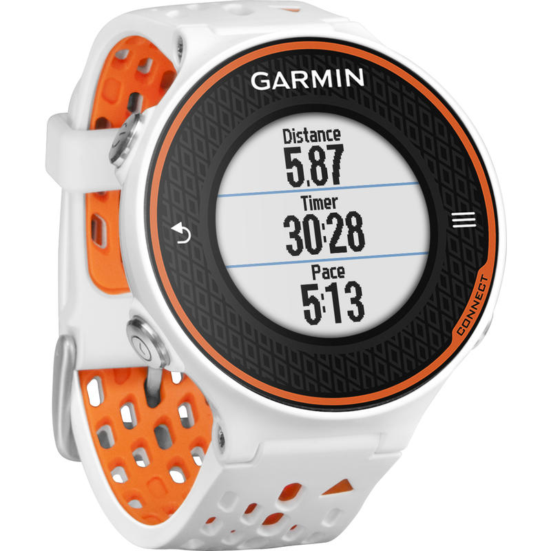 Forerunner 620 HRM GPS Watch White/Orange