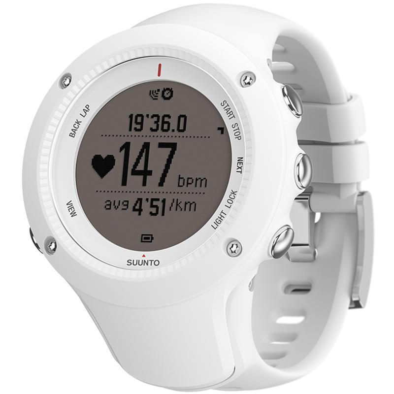 Montre Ambit 2R avec cardiomètre Blanc