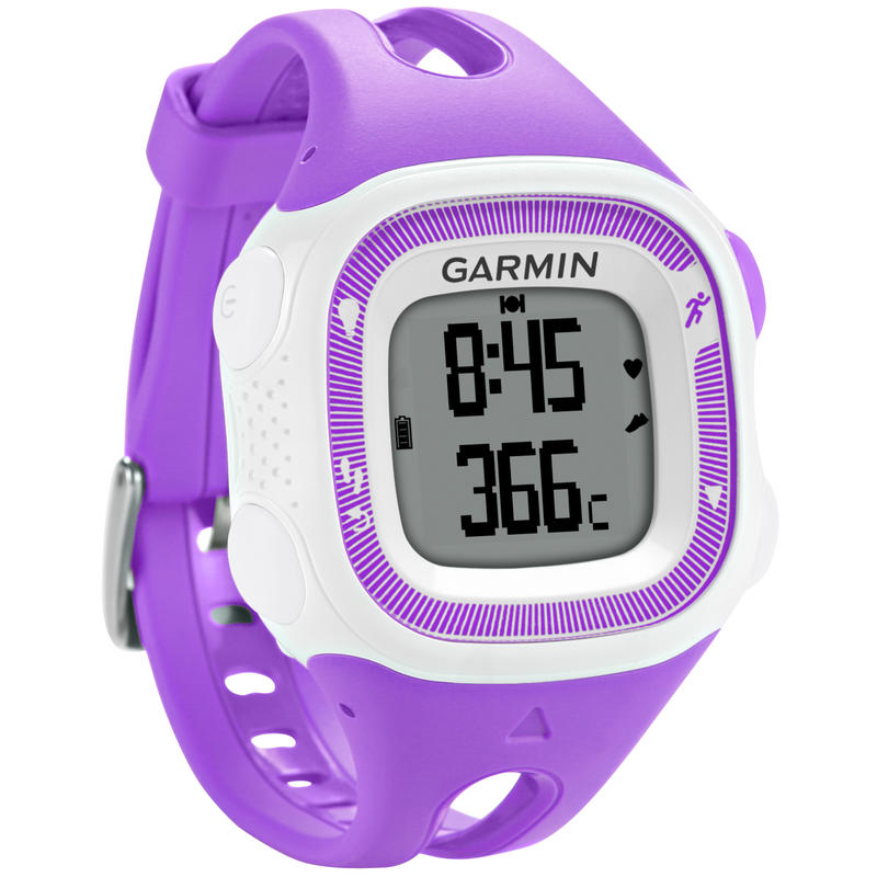 Forerunner 15 GPS Activity Tracker Watch Violet/White