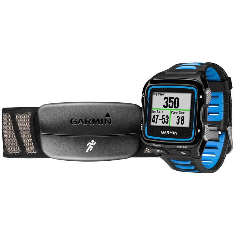 Montre Forerunner 920XT avec cardiomètre Bleu/Noir