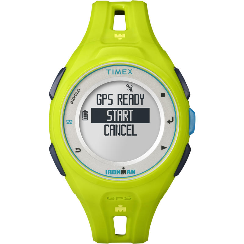 Montre GPS Run X20 Jaune néon