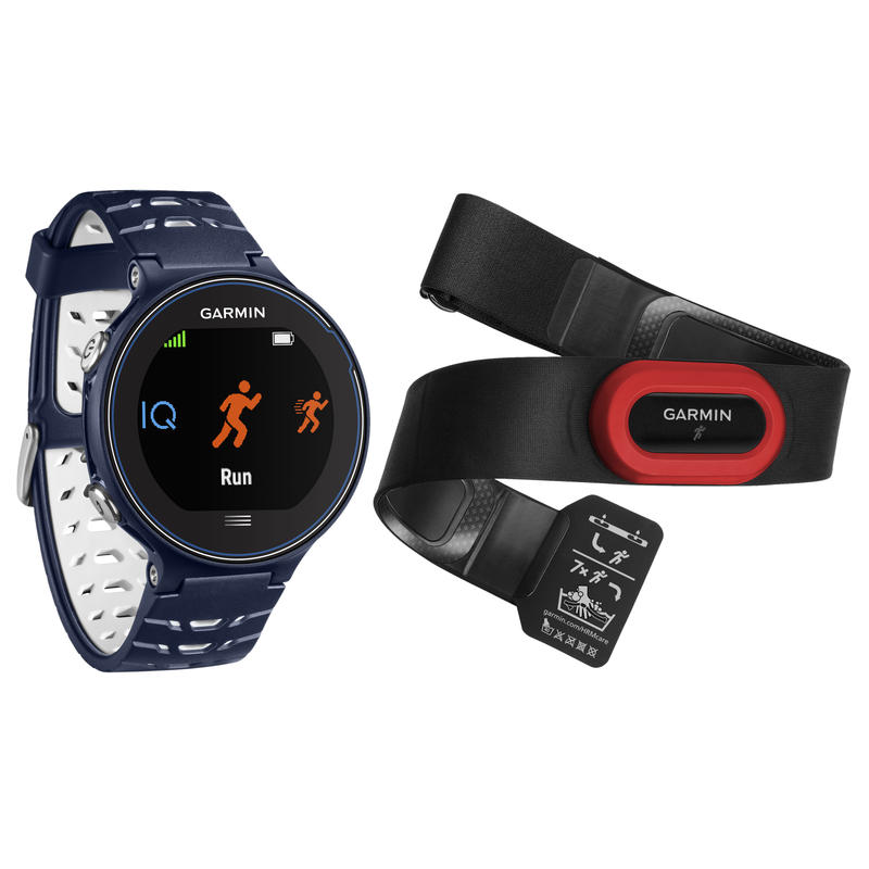 Forerunner 630 GPS Running Watch Bundle Midnight Blue