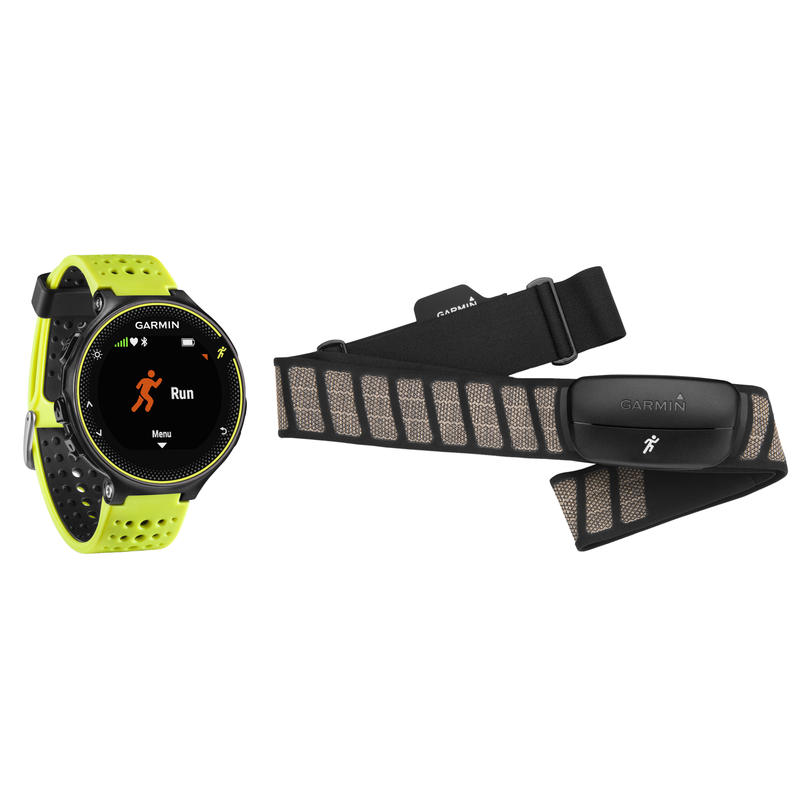 Forerunner 230 GPS Running Watch Bundle Force Yellow