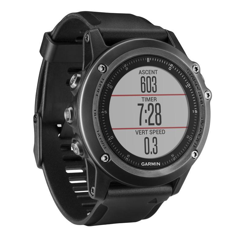 Fenix 3 HR Watch Grey/Black