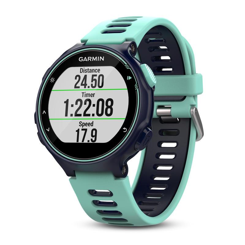 Forerunner 735XT GPS Running Watch Midnight Blue/Frost Blue