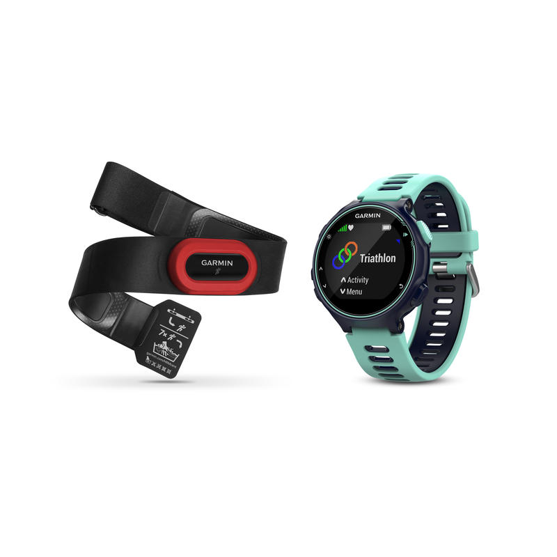 Montre Forerunner 735XT avec cardiomètre Bleu minuit/Bleu givre