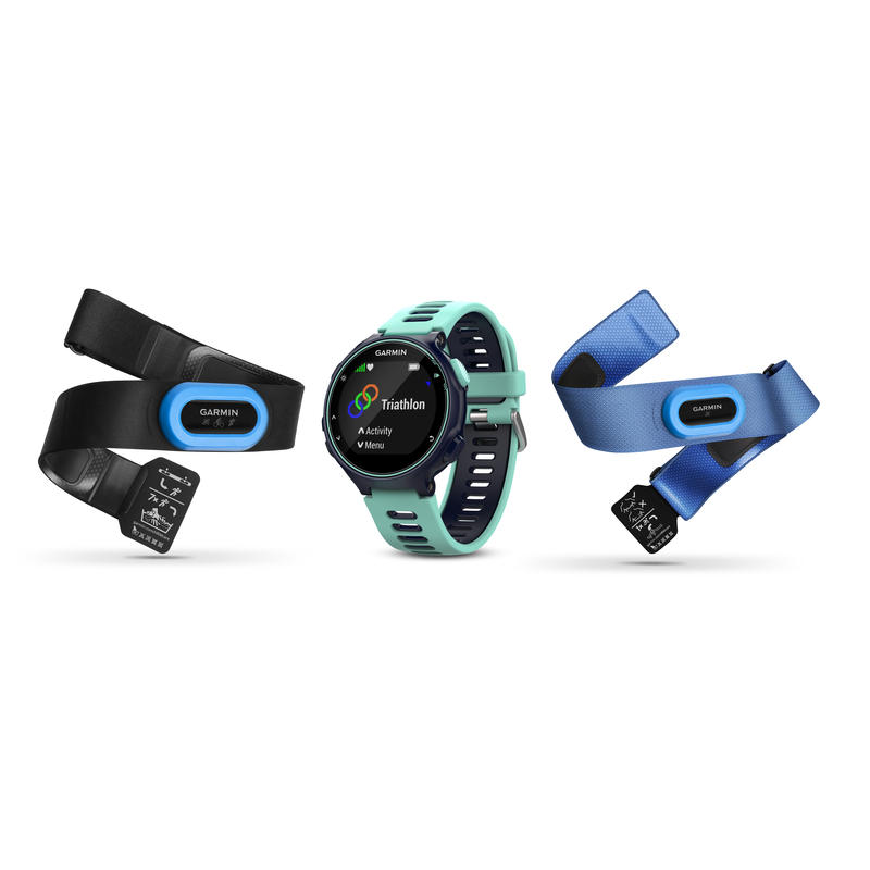 Ensemble de triathlon Forerunner 735XT Bleu minuit/Bleu givré