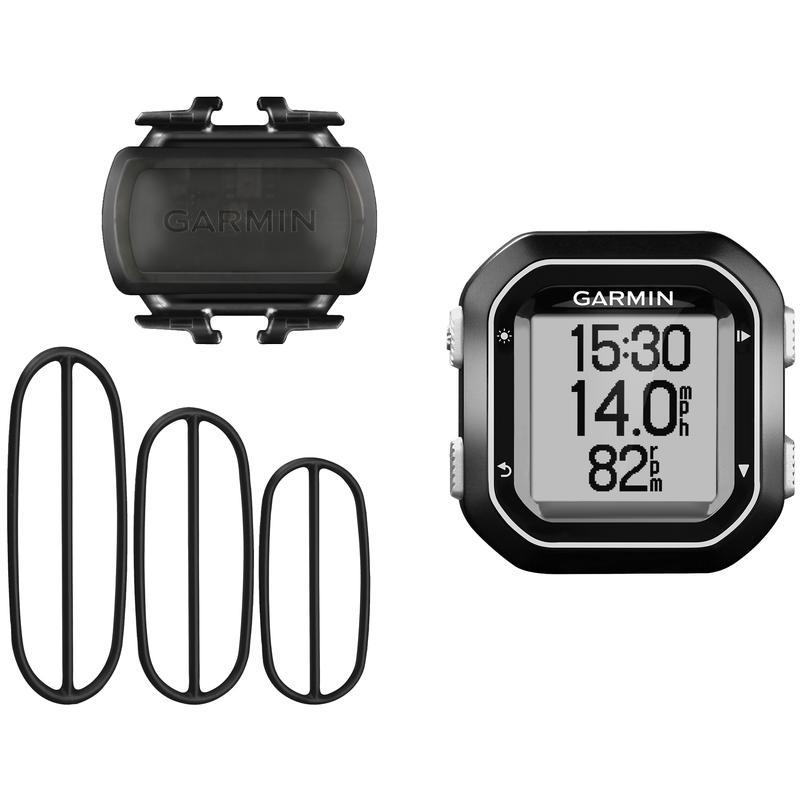 Cyclomètre Edge 25 avec capteur de cadence Noir