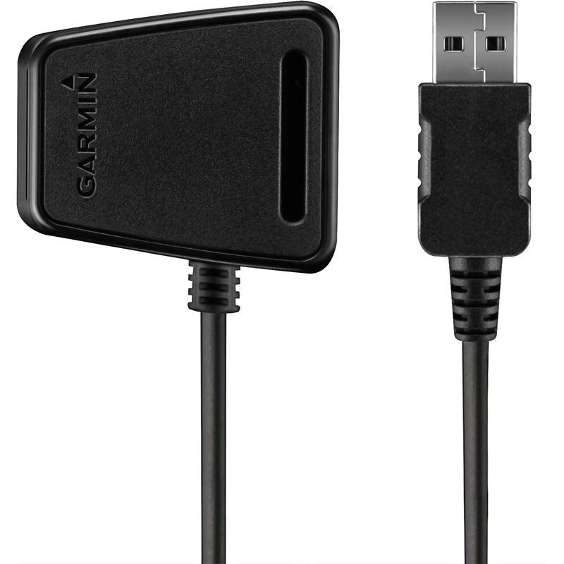 Chargeur USB pour montres Forerunner 110 et 210 Noir