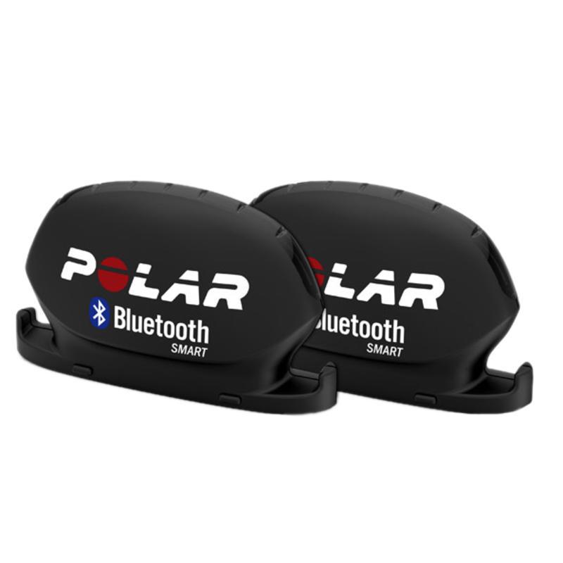 Ens.de capteurs de vitesse et de cadence Bluetooth Noir