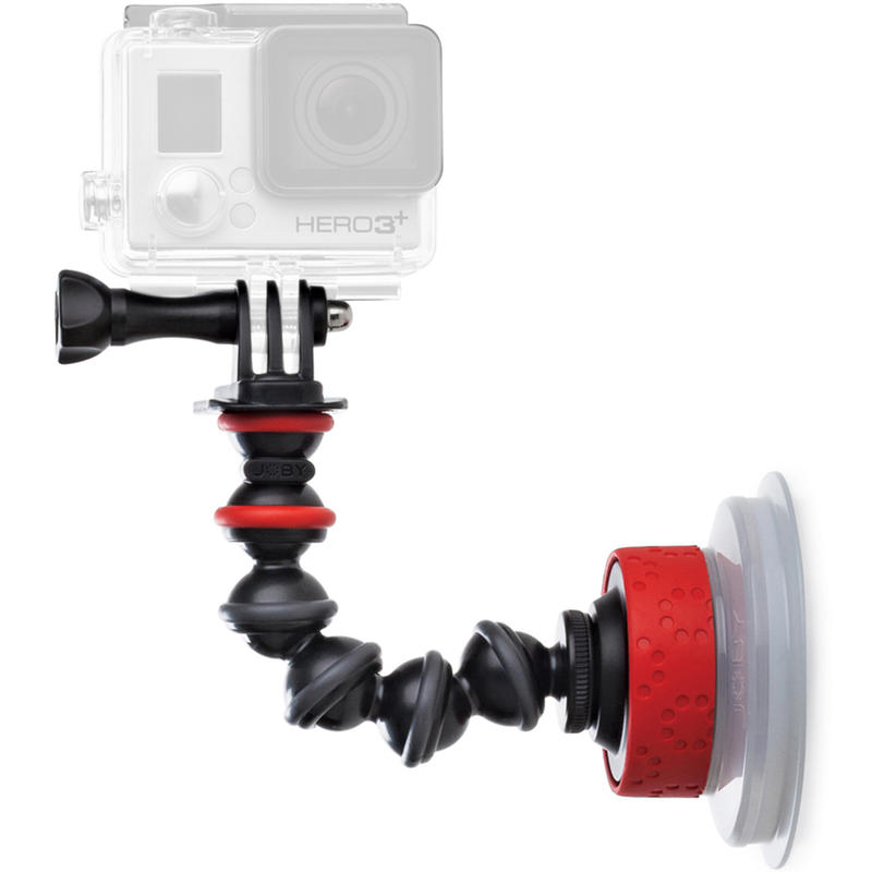 Suction Cup& GorillaPod Arm Black/Red