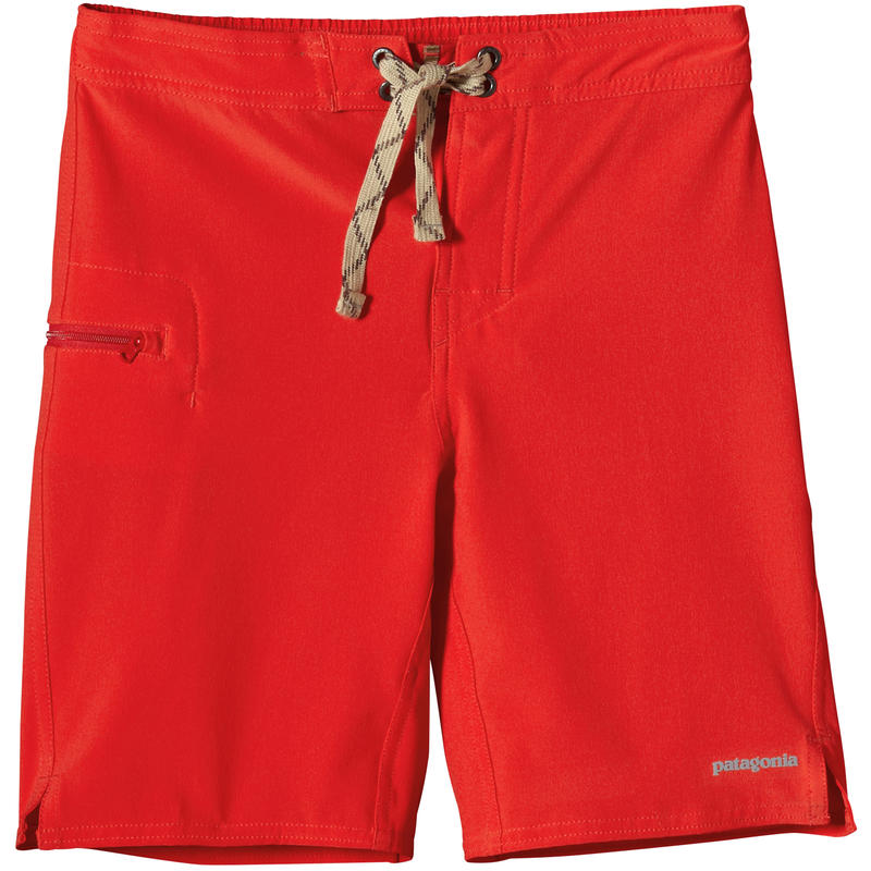 Short de surf Meridian Rouge turc