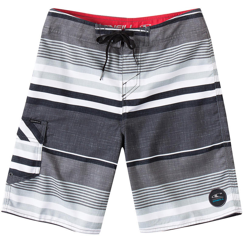Short de surf Santa Cruz Stripe Gris