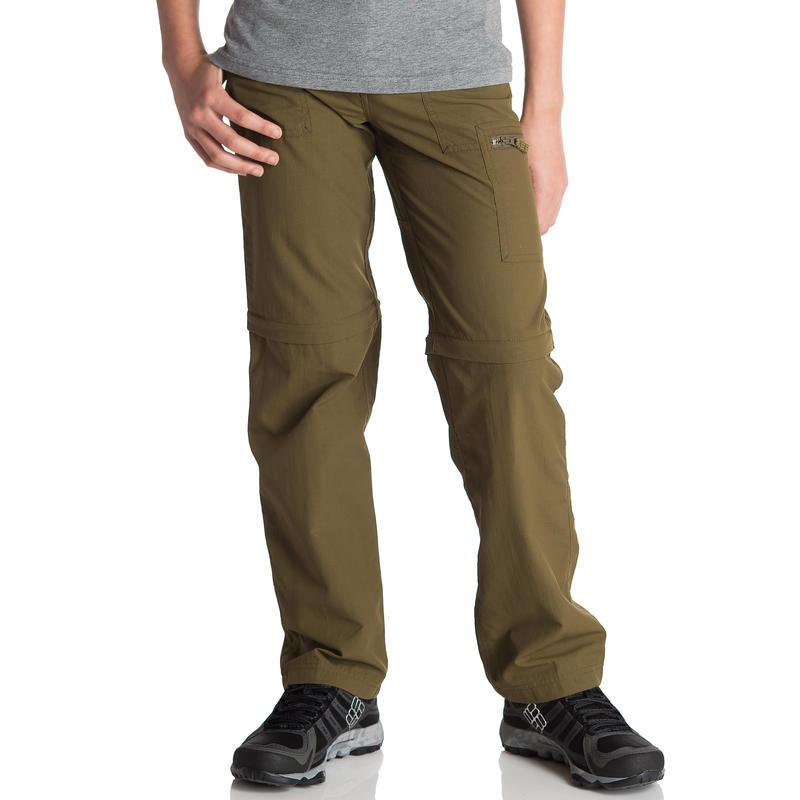 Scout Zip Leg Pants Dark Olive
