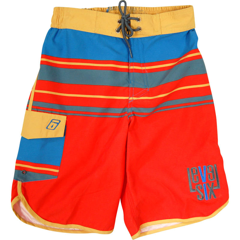 Short de surf Amped Rayures à moitié Hawaï