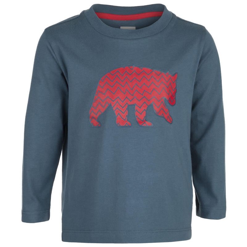 Liam Long-Sleeved T-Shirt Tempest Zig Zag Bear Graphic