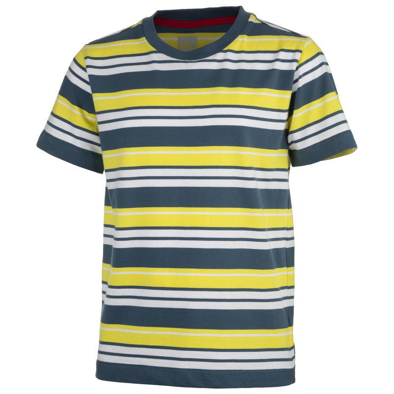 T-shirt Tyler Rayures maillot jaune-tempête
