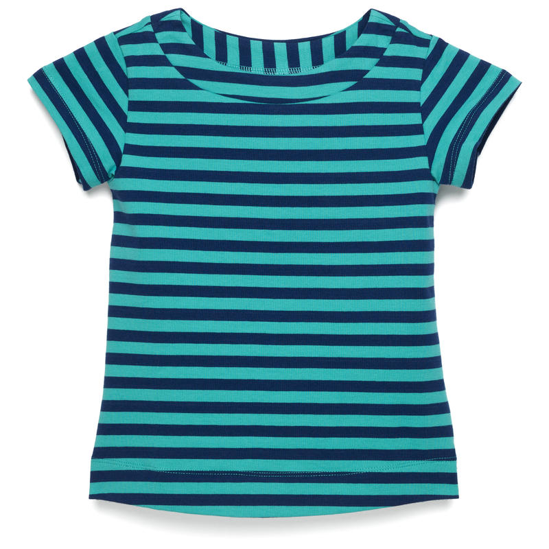 T-shirt Leah Mini rayures rugby indigo zone surf